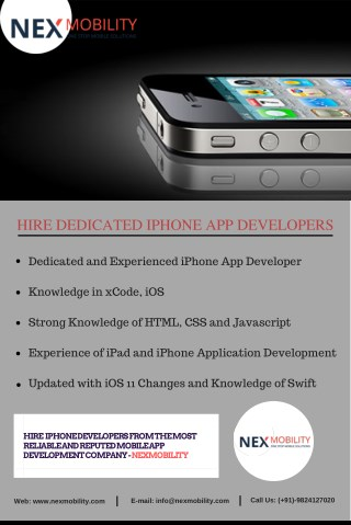 Tips to Hiring Skilled iPhone App Developers India