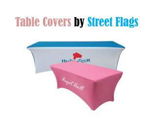 Table Covers | Trade Show Displays: Street Flag