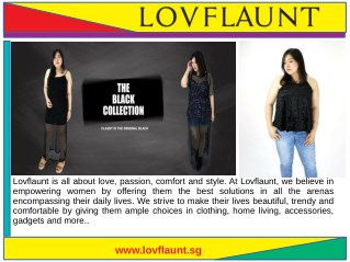 Fashion Plus Size Clothes For Women Singapore- Lovflaunt and LOVFLAUNT