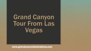 Las Vegas Grand Canyon Tours