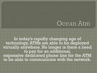 ATM | ATM Processing | ATM Sales | ATM Placement Services
