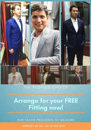Tailor Made Suits In Bangkok