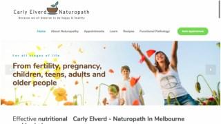 Carly Elverd Naturopath
