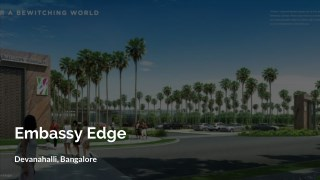 Embassy Edge Bangalore