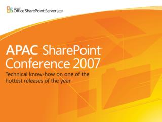 Upgrade to WSS 3.0 and SharePoint Server 2007