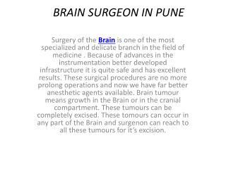 Spine Surgeon in Pune | Brain Surgeon in Pune | Dr.Dilip Kiyawat,Maharashtra