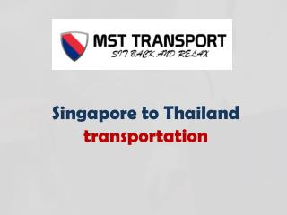Enjoy Trip with MST Transport Service From Singapore To Jb