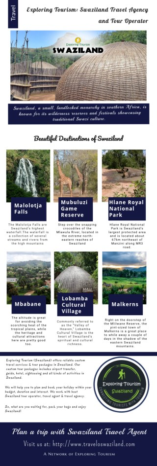 Swaziland Tours | Swaziland Tour Packages