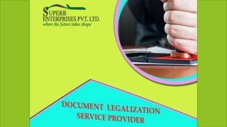Certificate Attestation service Provider  in India
