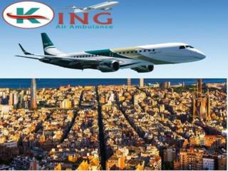 King Air Ambulance Service in Delhi with Best Medical Facility