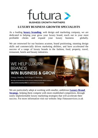 LUXURY BUSINESS GROWTH SPECIALISTS