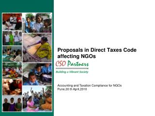 Proposals in Direct Taxes Code affecting NGOs