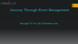 event management courses in pune