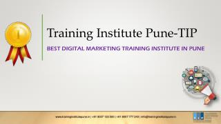 Best digital marketing courses in pune | Training Institute Pune