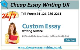 Cheap Essay Writing Services - Assuring Your Best Grades