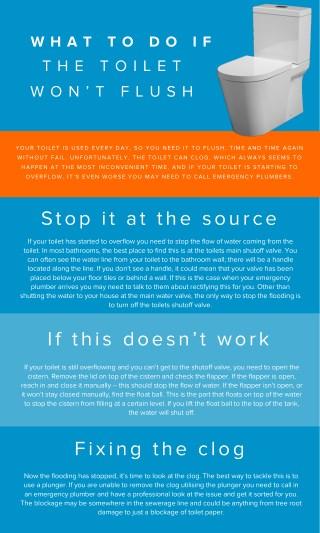 How to Stop Overflow Toilet?