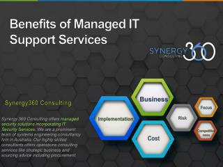 Managed IT Services | Synergy 360 Consulting