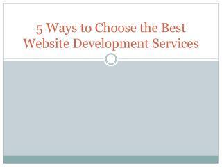 Website Development Services- Devlimer