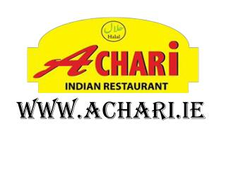 Achari Indian Restaurant in Limerick - www.achari.ie