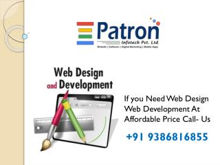 Website Development in Patna | Website Design Company in Patna | Log & Graphic Design Company in Patna - Patron Info Tec