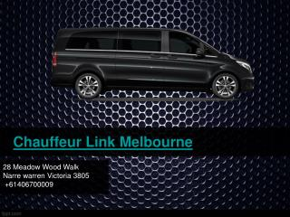Hire Chauffeur Cars with Chauffeur Link Melbourne