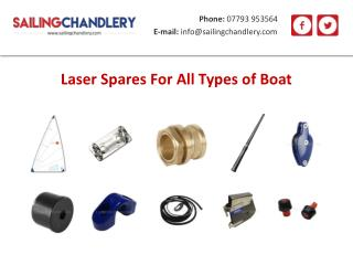 Laser Spares For All Types of Boat
