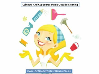 Cabinets And Cupboards Inside Outside Cleaning