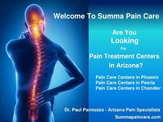Arizona Pain Specialists - Phoenix Peoria Chandler AZ
