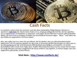 Cash Facts