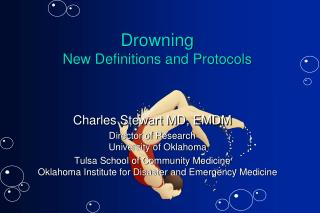 Drowning New Definitions and Protocols
