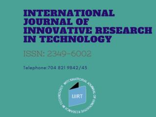 Get the Call for papers in journals online