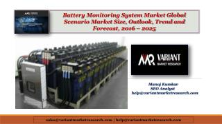 Battery Monitoring System Market