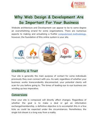 Web Design/Development Company in India