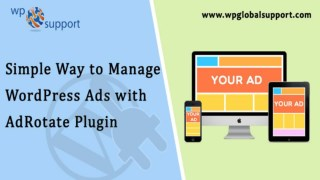 wordpress ads management