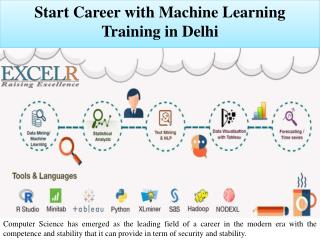 Start Career with Machine Learning Training in Delhi