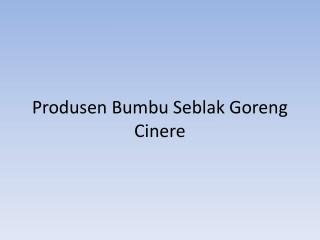 Maknyuss!! 0857.7940.5211, Pabrik Bumbu Seblak Telor Cirebon 1