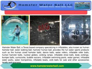 Bubble Soccer- Hamster Water Ball LLC