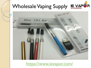 Wholesale Mini Ce3 Kit | Ievapor
