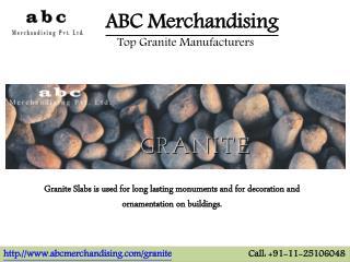 Granite Exporters, Granite Suppliers India