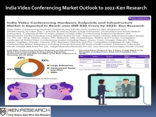 Video Conferencing Software Market in India, Video Conferencing Hardware Endpoints India- Ken Research