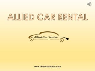 Car & Taxi Rental Services in Pune - Allied Car Rental