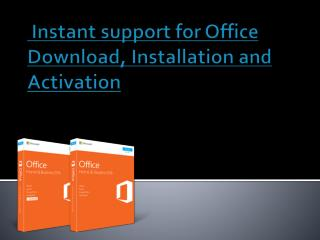 How to activate office setup, office setup installation