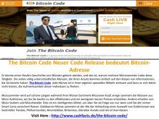 The Bitcoin Code Speichern Sie Ihre hart verdienten