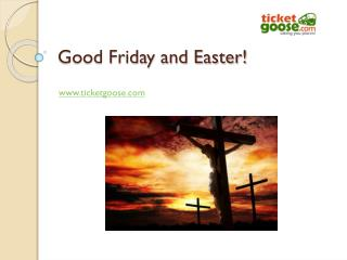 Good Friday and Easter!
