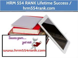 HRM 554 RANK Lifetime Success / hrm554rank.com