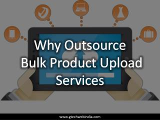 Bulk Product Upload Services for Ecommerce Online Store