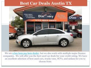 Best Car deals Austin TX