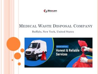 Best Medical Waste Disposal Services Buffalo