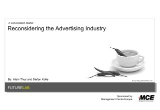 Reconsidering the Advertising Industry