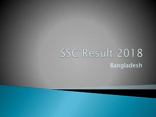SSC Result 2018 Fast Checking Process